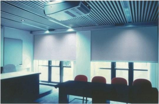 Persianas enrollables para oficinas y edificios públicos