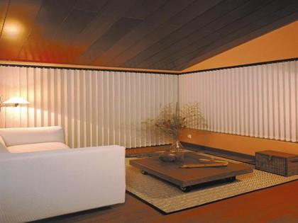 Fabricación, venta e instalación de persianas verticales